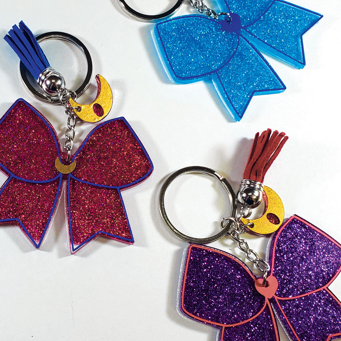 Key Charms: Sailor Senshi