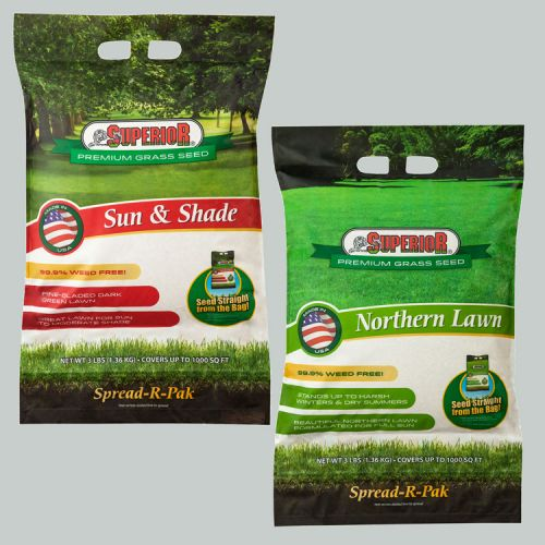 Superior Premium Grass Seed Packages